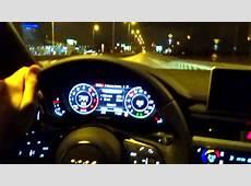 2016 AUDI A4 B9 Quattro 20 TFSI Night Driving Test Drive