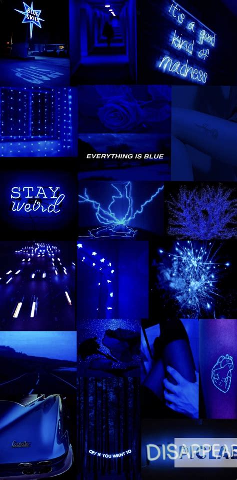Blue Aesthetic by Blue Aesthetic Blue Aesthetic Electric Blue Aesthetic