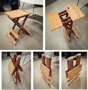 small folding table - 4