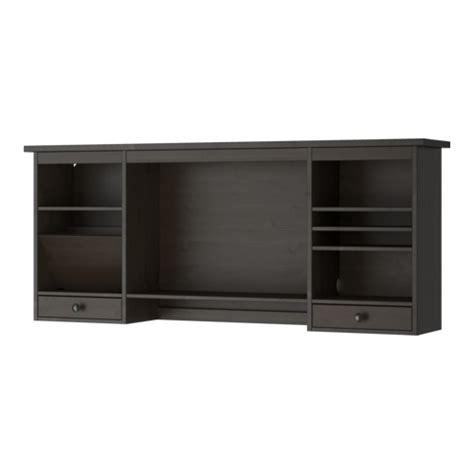 unité centrale ordinateur de bureau hemnes élément complémentaire bureau brun noir ikea