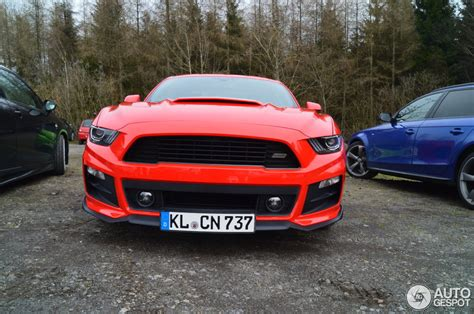 Roush Warrior Mustang Price by Ford Mustang Roush Warrior S C 2015 2 April 2016