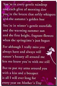 Grave Card Dear On Mothers Day Free Holder M9374