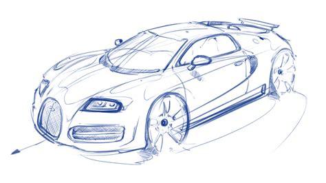 Standard printable step by step. Bugatti Drawing at GetDrawings   Free download