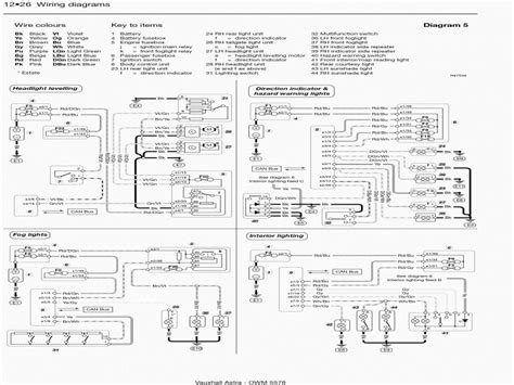 Opel Corsa Gsi Wiring Diagram by Vauxhall Astra Fuse Diagram Wiring Forums