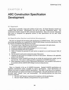 6 Abc Construction Specification Development