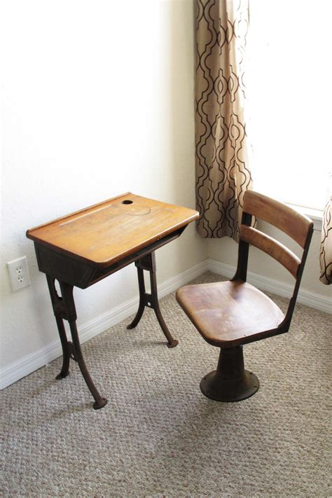 Vintage School Desk And Chair by Sale Antique School Desk And Chair
