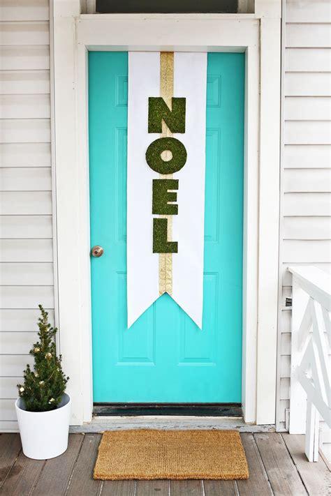 diy door decor door banner diy a beautiful mess