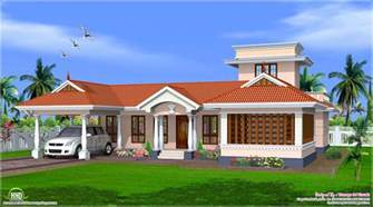 house designs style single floor house design kerala home plans