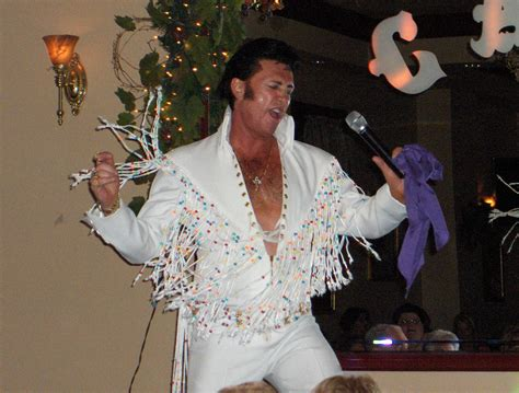 JAMES CLARK IN CONCERT TRIBUTE TO ELVIS WHAT A SINGER AND ...
