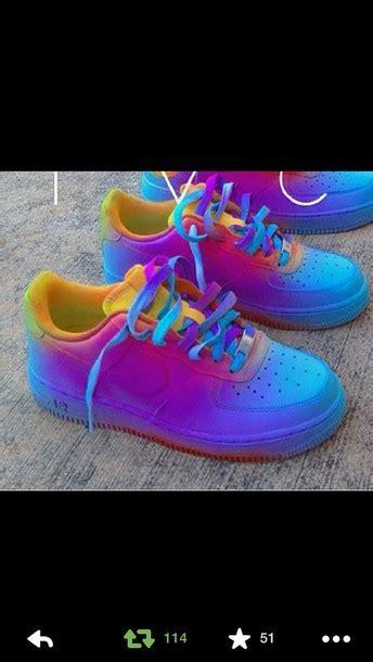 colorful air 1 shoes colorful nike air 1 af1 bag nike air