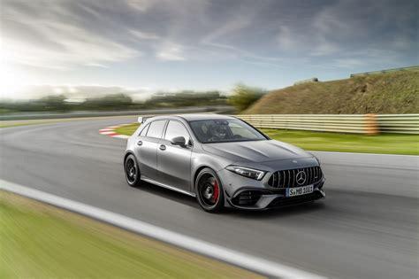 Mercedes a livré le tarif de sa classe a la plus radicale. Mercedes-AMG Classe A 45 S et CLA 45 S. Photos et infos officielles.