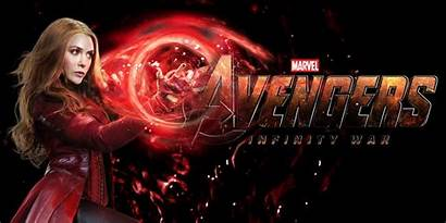 Scarlet Witch Infinity Marvel War Wallpapers Super