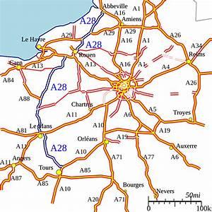 Les Autoroutes En France : a28 autoroute wikipedia ~ Medecine-chirurgie-esthetiques.com Avis de Voitures