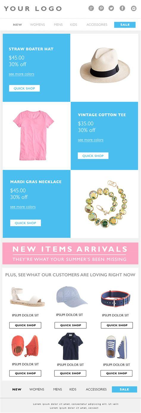 eblast template email marketing eblast template email template fashion email marketing email email template