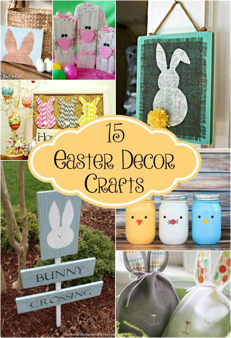 diy easter decorations ideas  pinterest