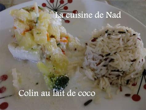 la cuisine de nad colin ou saumon au lait de coco la cuisine de nad