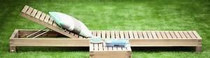 Wetterfester Stoff Gartenmöbel : moderne sonnenliegen aus holz i holzdesignpur ~ Buech-reservation.com Haus und Dekorationen