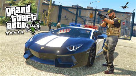 Play As A Cop Mod #12! Gta 5 Sheriff