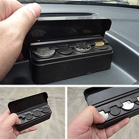 topseller car coin holder loose change storage box car