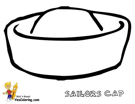 Army Hat Coloring Page Pages