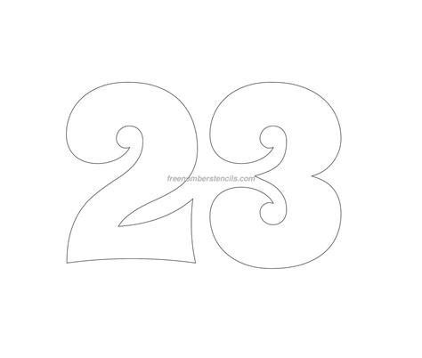 number templates free groovy 60 number stencil freenumberstencils