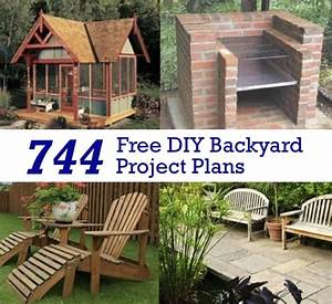 744 Free DIY Backyard Project Plans - Homestead & Survival