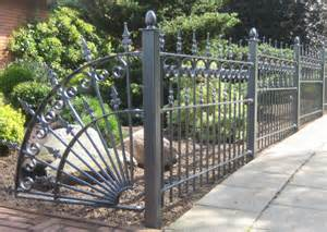 antique wrought iron fence panels 171 margarite gardens