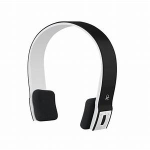 Casque Audio Long Fil : casque audio sans fil avec microphone bluetooth noir ~ Edinachiropracticcenter.com Idées de Décoration