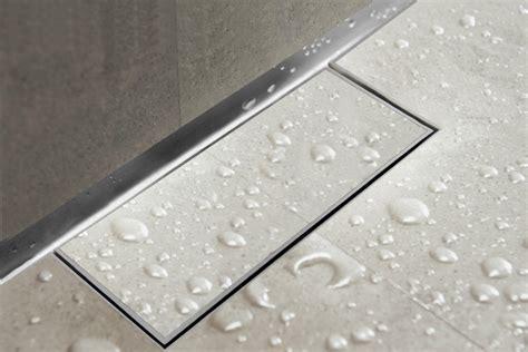 Easy Drain Waterstop Wall   Linear Shower Drain