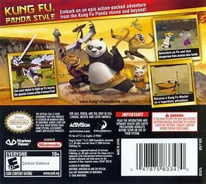 Kung Fu Panda 2008 Nintendo Ds Box Cover Art Mobygames