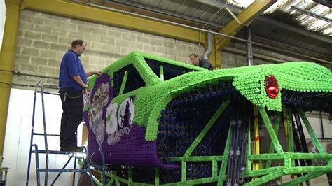monster jams grave digger  anniversary life size knex truck documentary youtube