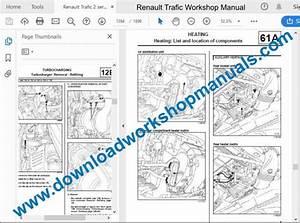 Renault Trafic 2 Service Repair Workshop Manual