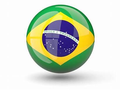 Brazil Flag Icon Sphere Brasil Mexico Flags