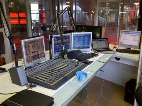 Office Desk Radio by Vodacom Radio Studio Radio Studios Studio Dj Sound