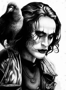 """The crow"" with brandon lee!!!!! 
