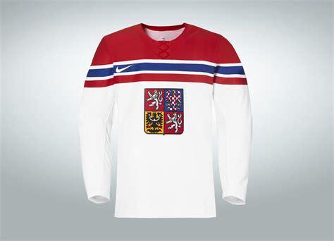 nike unveils  ice hockey jersey   czech republic