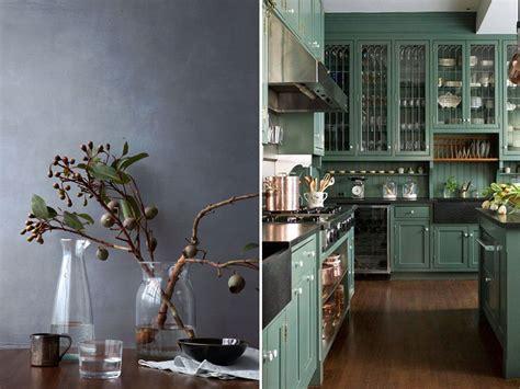 meuble bois cuisine cuisine mur vert olive cuisine nous a fait à l