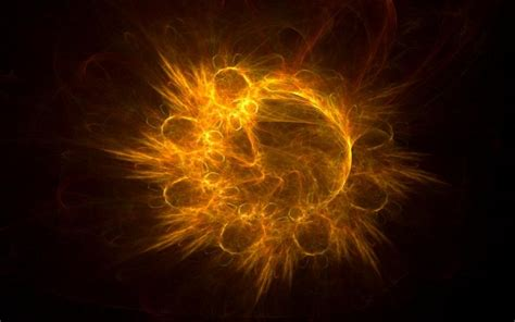 hd exploding sun wallpaper