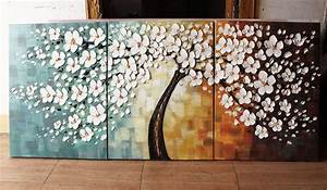 Square Tree Painting The Art Colony Portfolios Wood Fibre