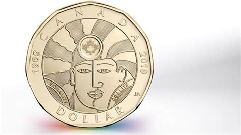 royal canadian mint unveils  equality loonie
