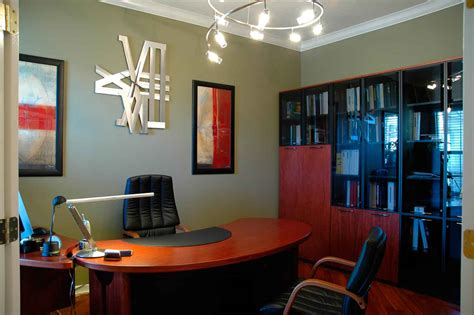 zoe home interior small office design in lovely and cheerful nuance amaza