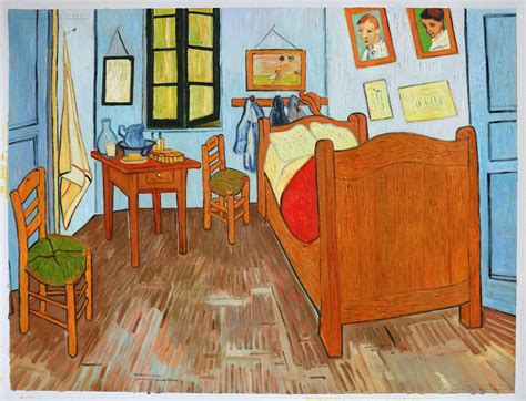 vincents bedroom  arles vincent van gogh paintings