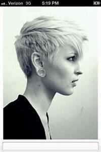 Sidecut Frauen Kurzhaar : 1000 images about short hair and undercuts on pinterest undercut pixie cuts and undercut pixie ~ Frokenaadalensverden.com Haus und Dekorationen