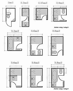 25 best ideas about plan salle de bain on pinterest With plan salle de bain 3m2