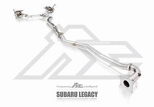 Subaru Legacy Valvetronic Exhaust System