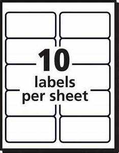 Avery white weatherproof laser shipping labels 2 x 4 box for Half page shipping label template