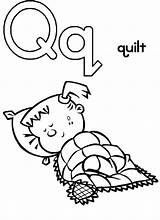 Letter Coloring Quilt Preschool Capital Quilts Bulkcolor Template Sketches Teacher sketch template
