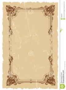 designer vintage vintage decorative frame vector background design royalty free stock images image 4625909