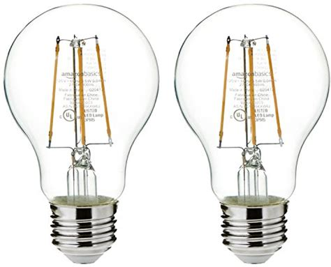 amazonbasics non dimmable led light bulbs a19 and a21