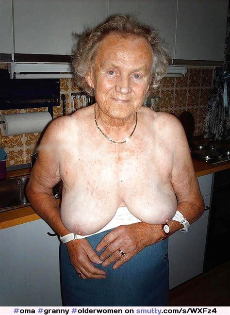 Very Old Oma Granny Olderwomen Flatchest Ugly